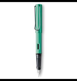 LAMY AL-Star Fountain Pen, Blue Green, Medium Nib