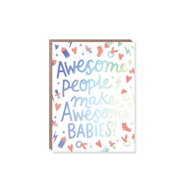 Hello Lucky Awesome Babies Card