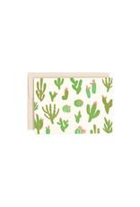 Hello Lucky Cactus Card