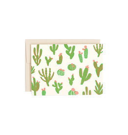 Hello Lucky Cactus Card