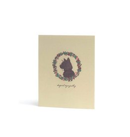 Hello Lucky Cat Sympathy Card