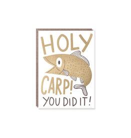 Hello Lucky Holy Carp Card