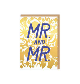 Hello Lucky Mr and Mr Wedding Card