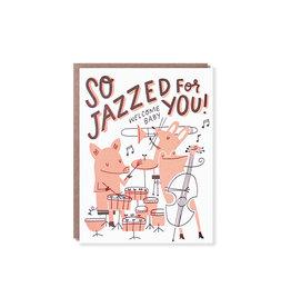 Hello Lucky So Jazzed Baby Card