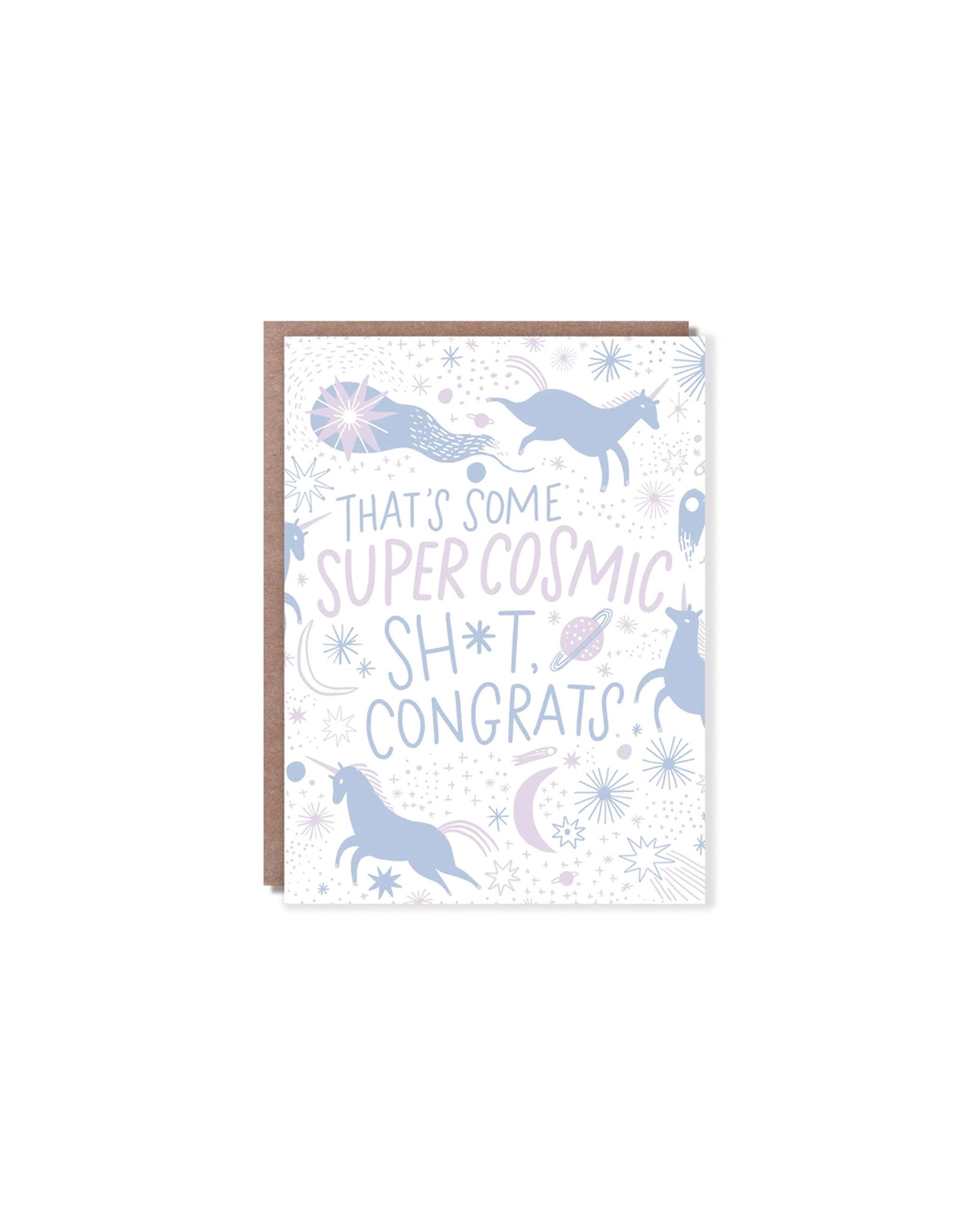 Hello Lucky Super Cosmic Shit Congrats Unicorn