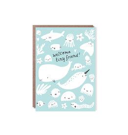 Hello Lucky Tiny Friend Card