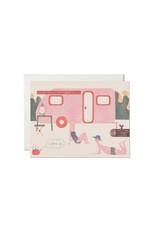 Red Cap Caravan Love Card