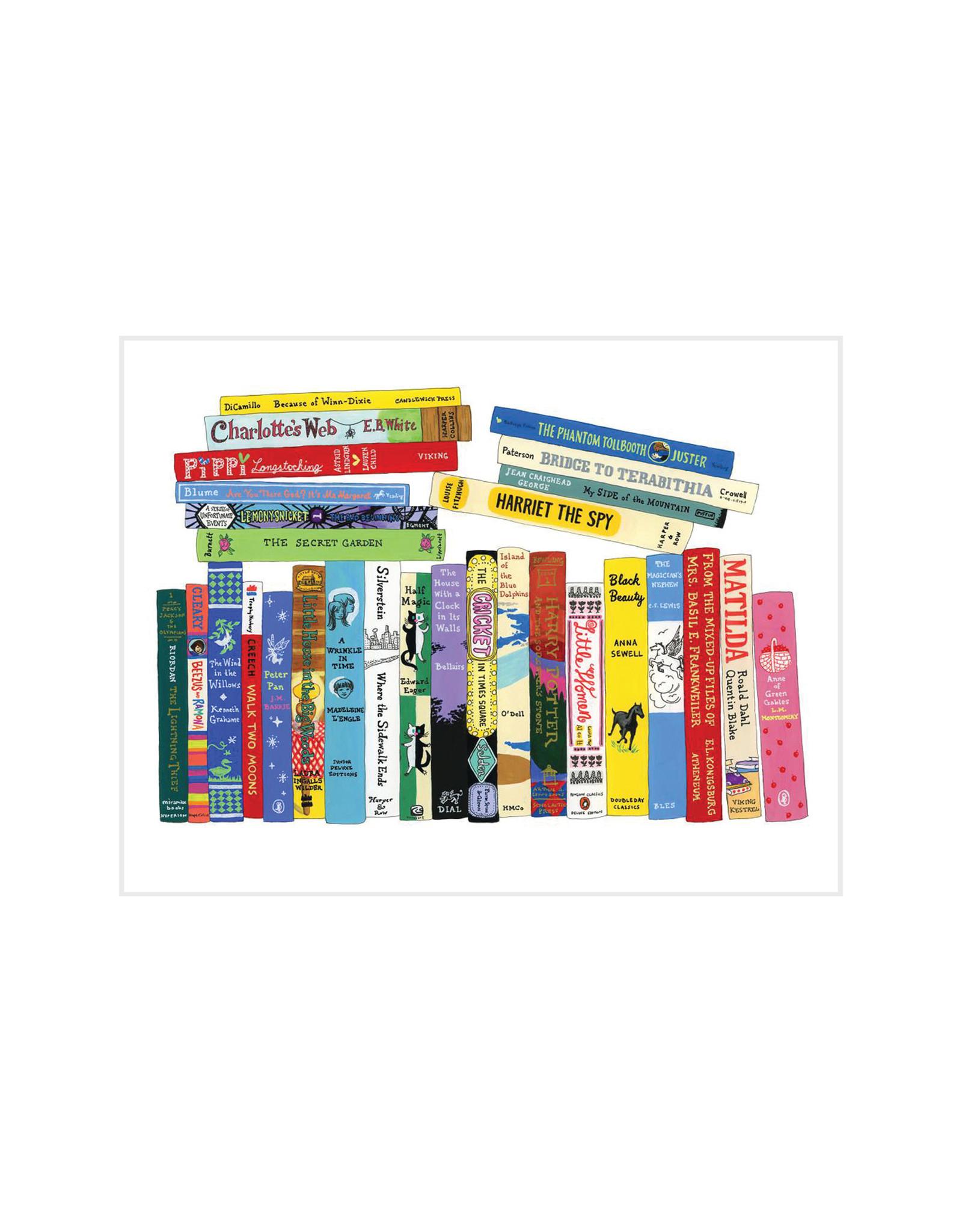 Ideal Bookshelf Tweens Book Card