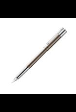 LAMY scala Titanium Fountain Pen, Medium Nib