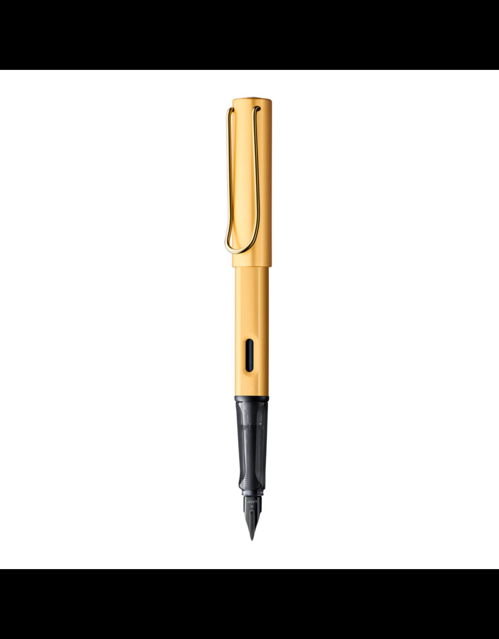 LAMY Lx Fountain Pen, Gold, Medium Nib