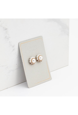Lover's Tempo Empress Pearl Post Earrings