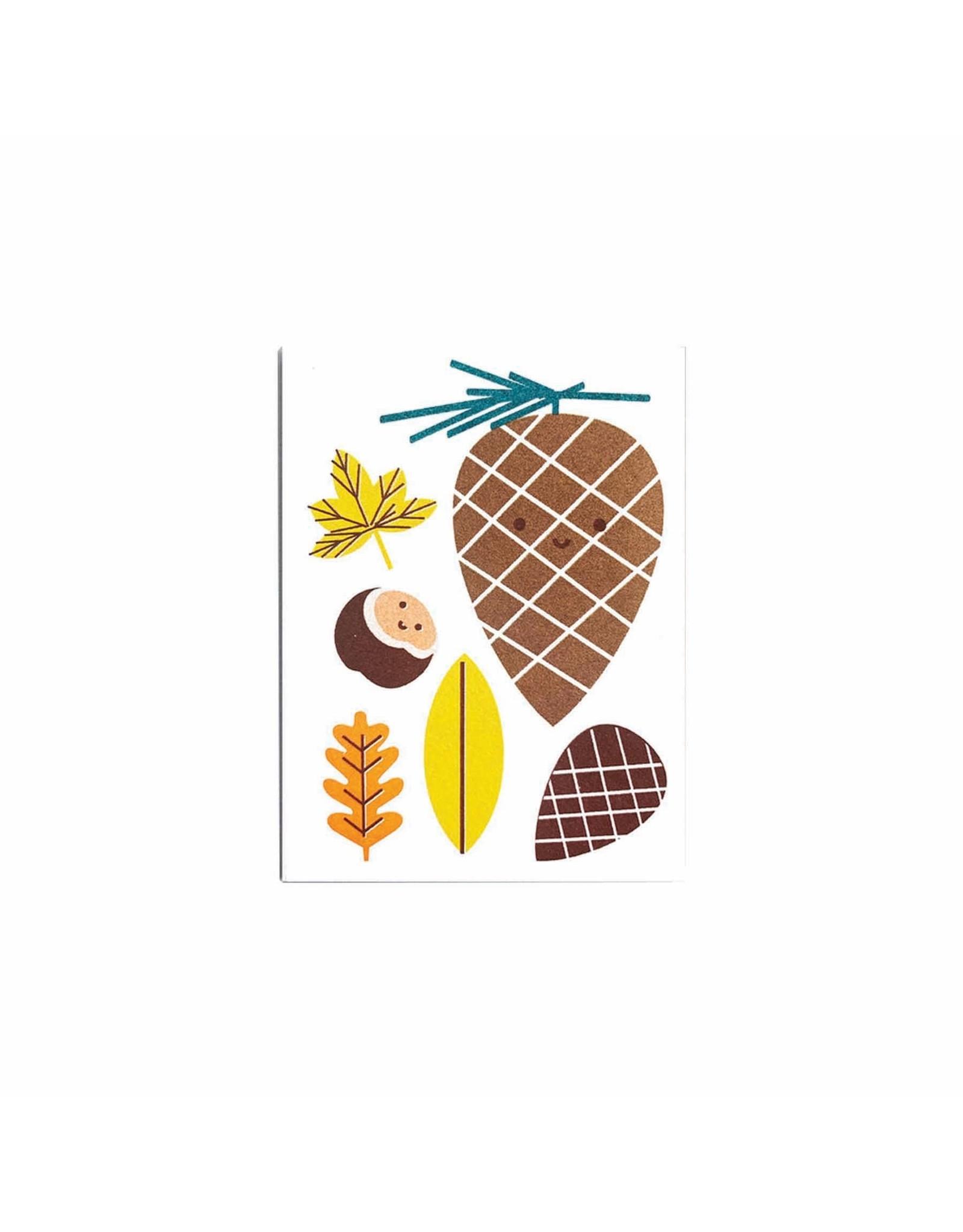 Scout Editions Mini Card, Autumn