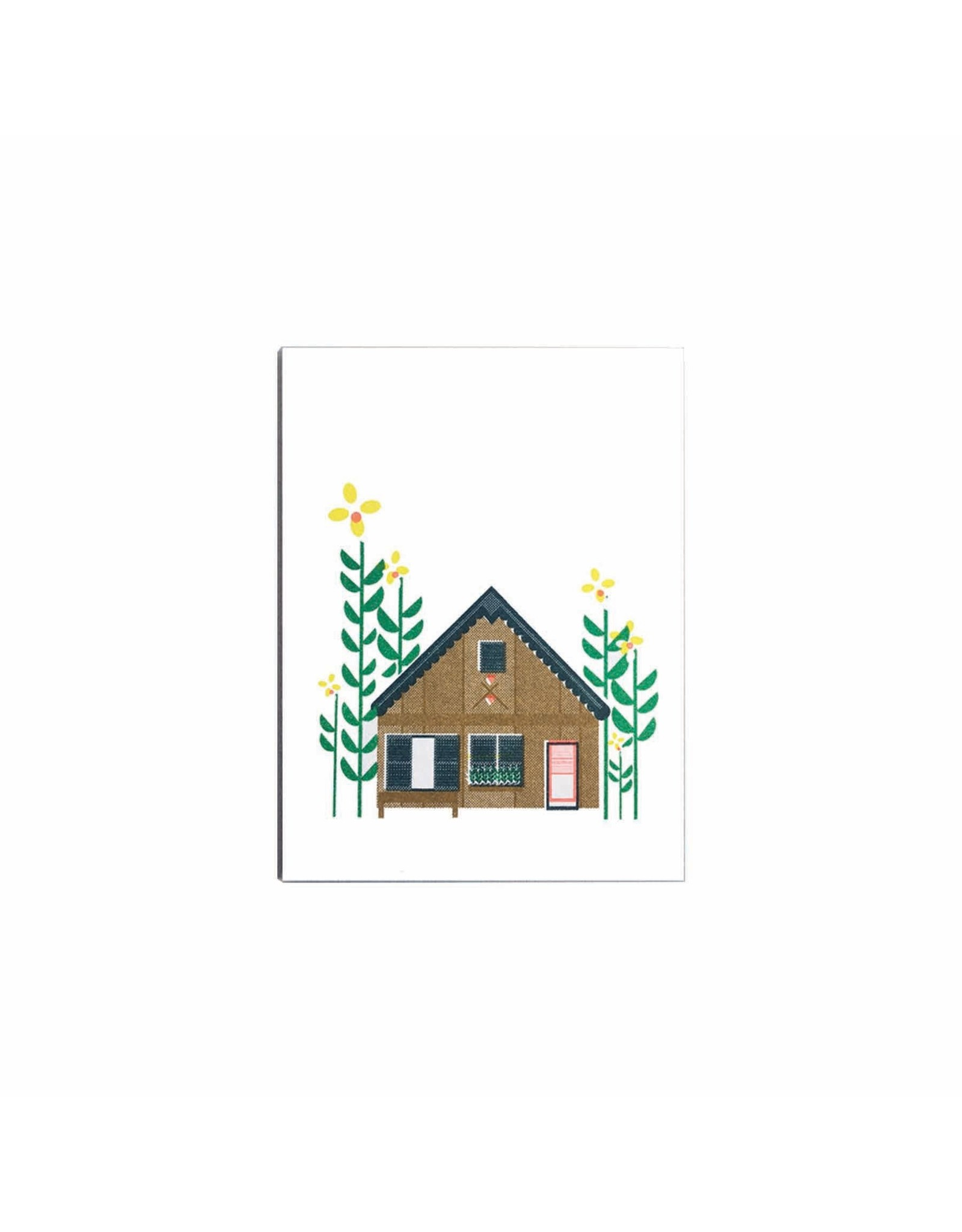 Scout Editions Mini Card, Log Cabin