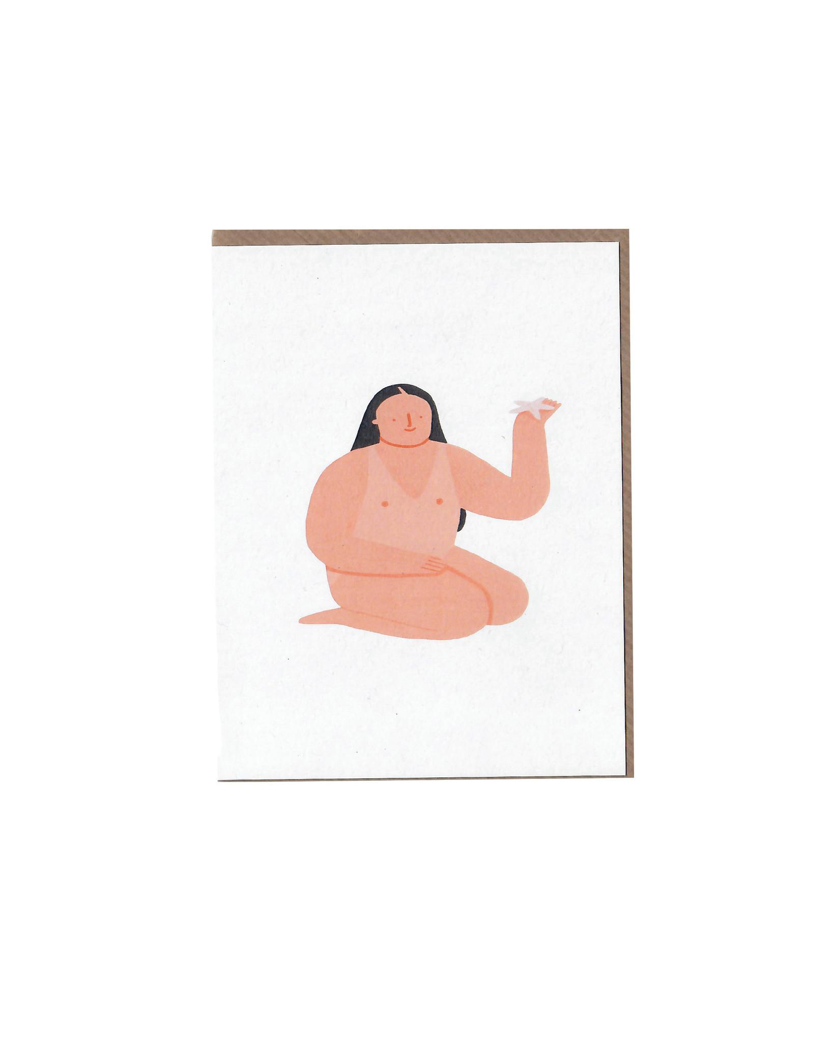 Eleonora Arosio Card, Bather Star Fish