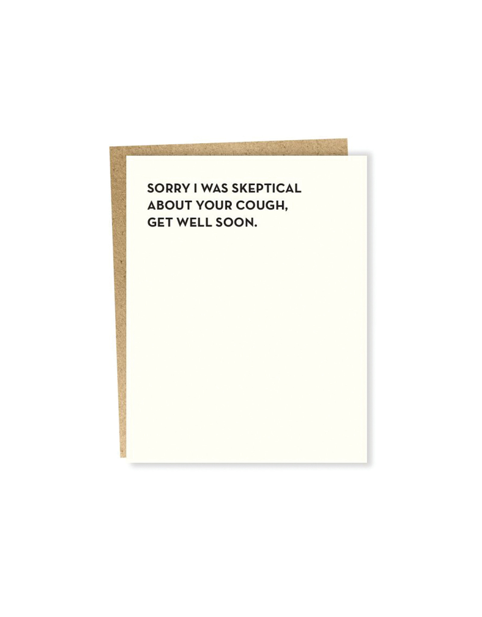 Sapling Press Moment of Truth Skeptical Card