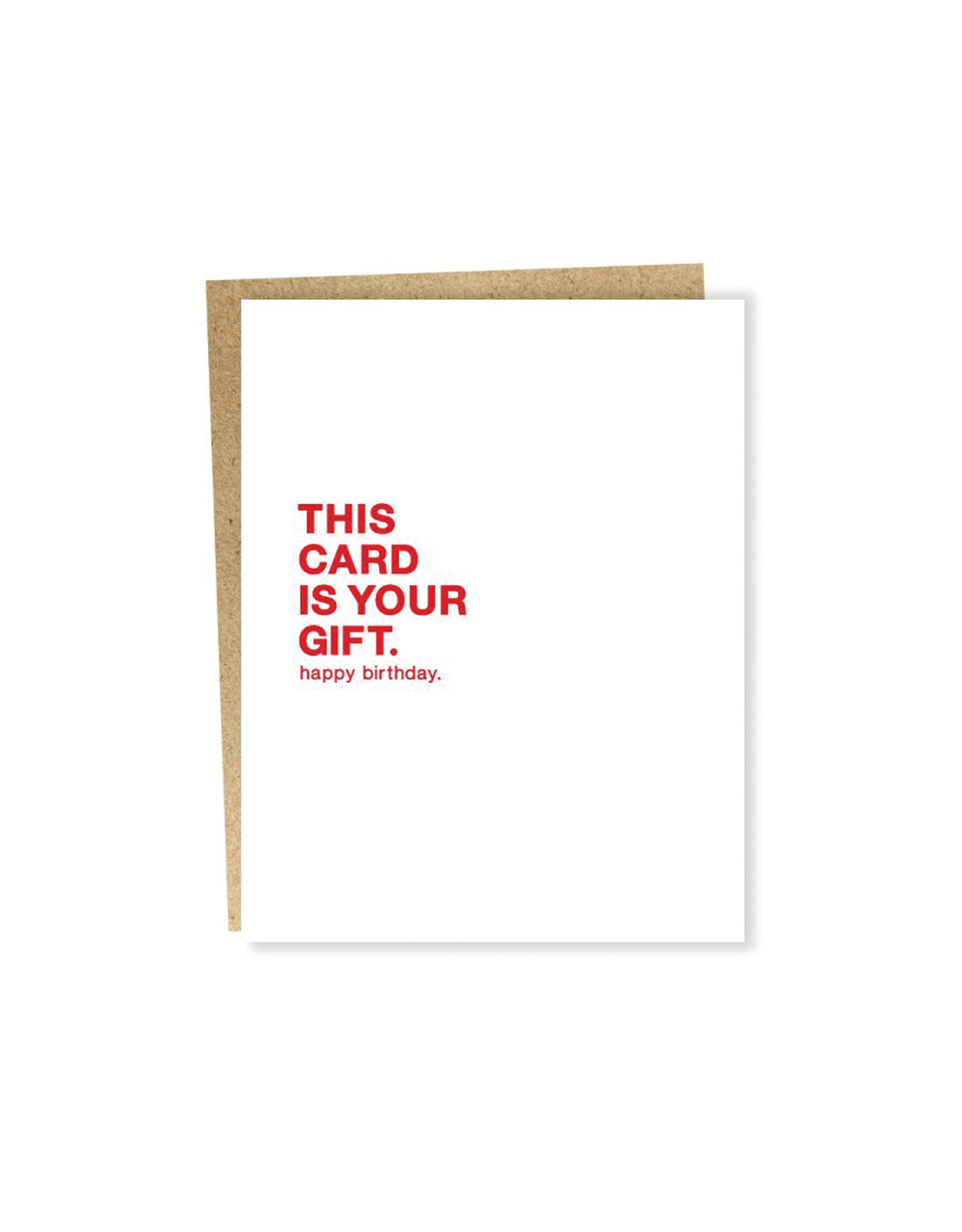 Sapling Press, Make A Wish, This Card Is Your Gift Card