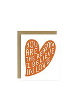Worthwhile Paper Card, Believe in Love
