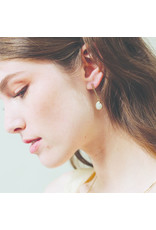 Lover's Tempo Grace Drop Earrings, White
