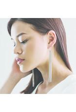 Lover's Tempo Gratzi Fringe Earrings, Silver