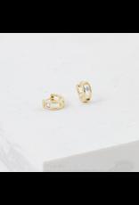 Lover's Tempo Leon Hoop Earrings, Gold