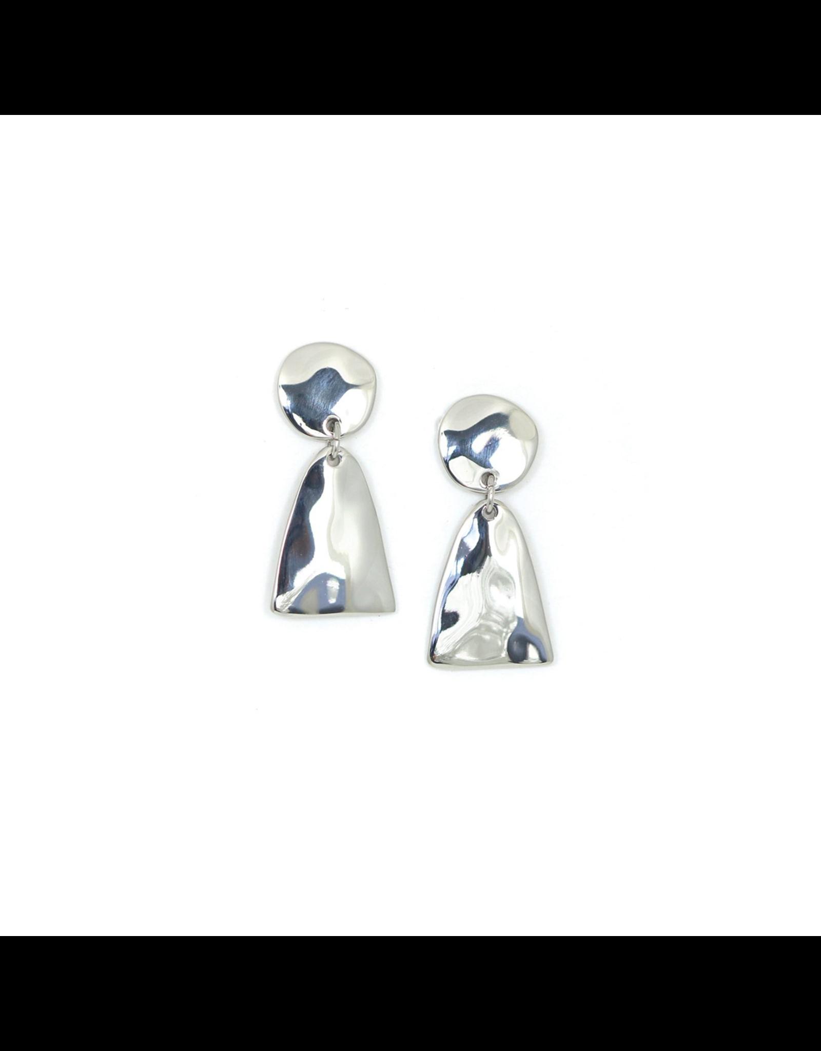 Lover's Tempo Loa Drop Earrings, Silver