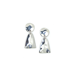 Lover's Tempo Loa Drop Earrings, Silver