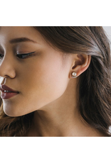 Lover's Tempo Mimosa Post Earrings, Champagne