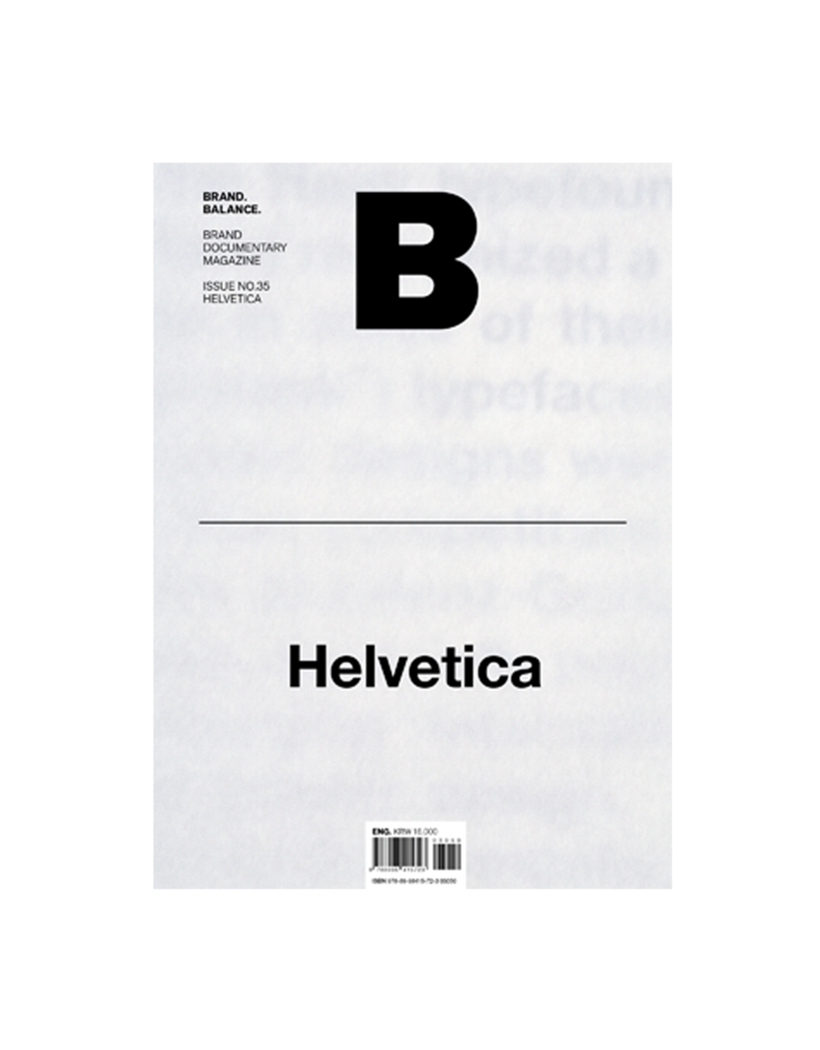 Magazine B, Issue 35 Helvetica