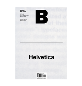 Magazine B, Issue 35 Helvetica