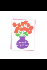 Ashkahn Thank You Flowers Card