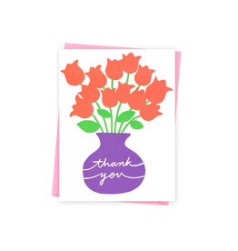 Ashkahn Thank You Flowers Card