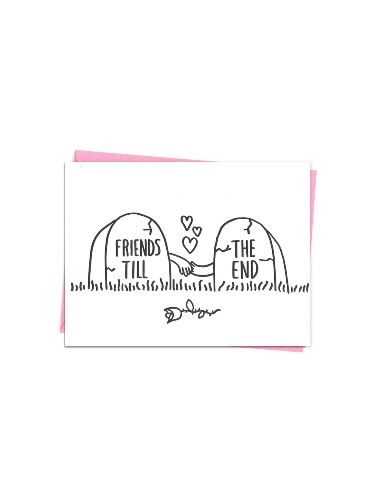 Ashkahn Friends Til The End Card