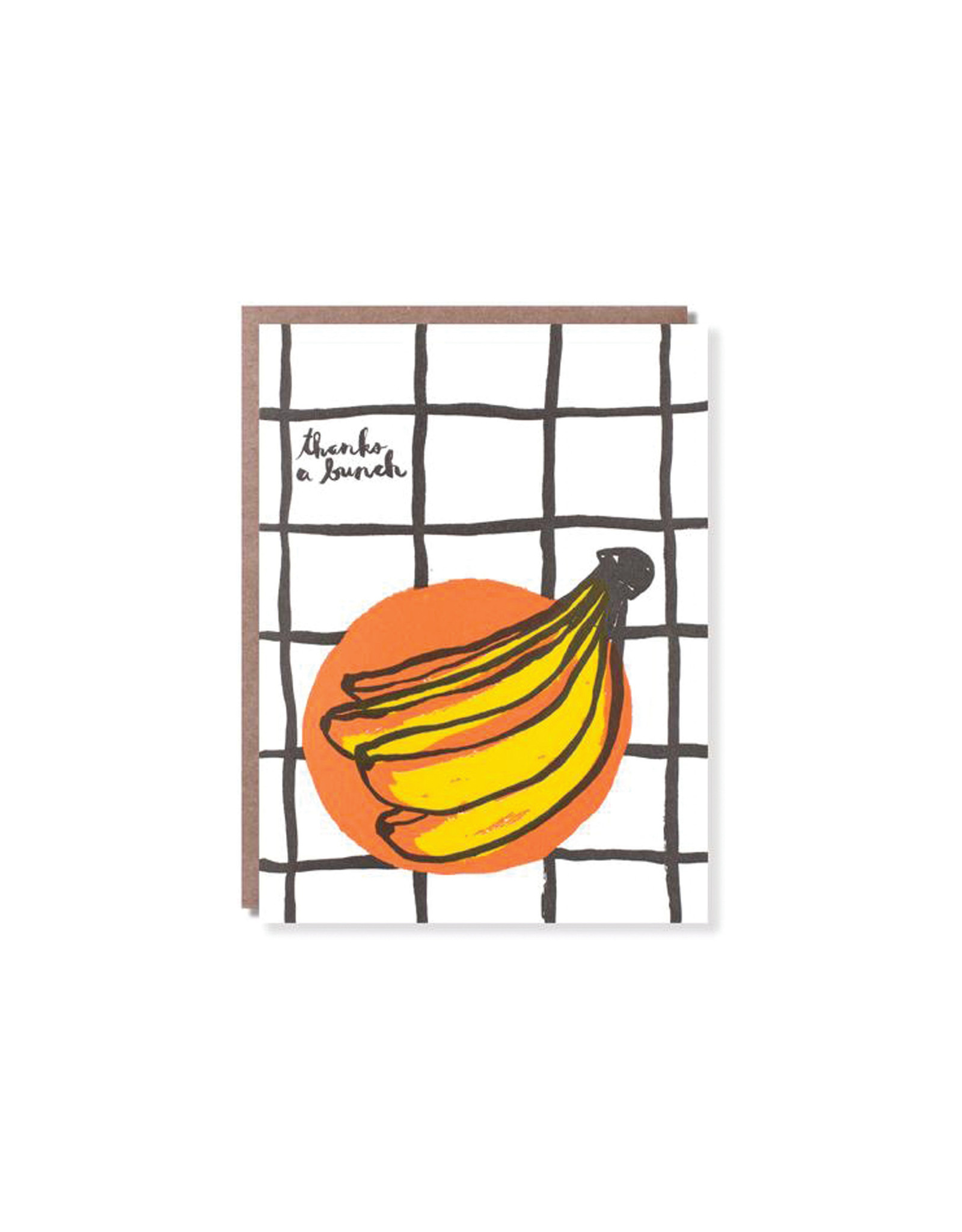 Egg Press Banana Thank You Card