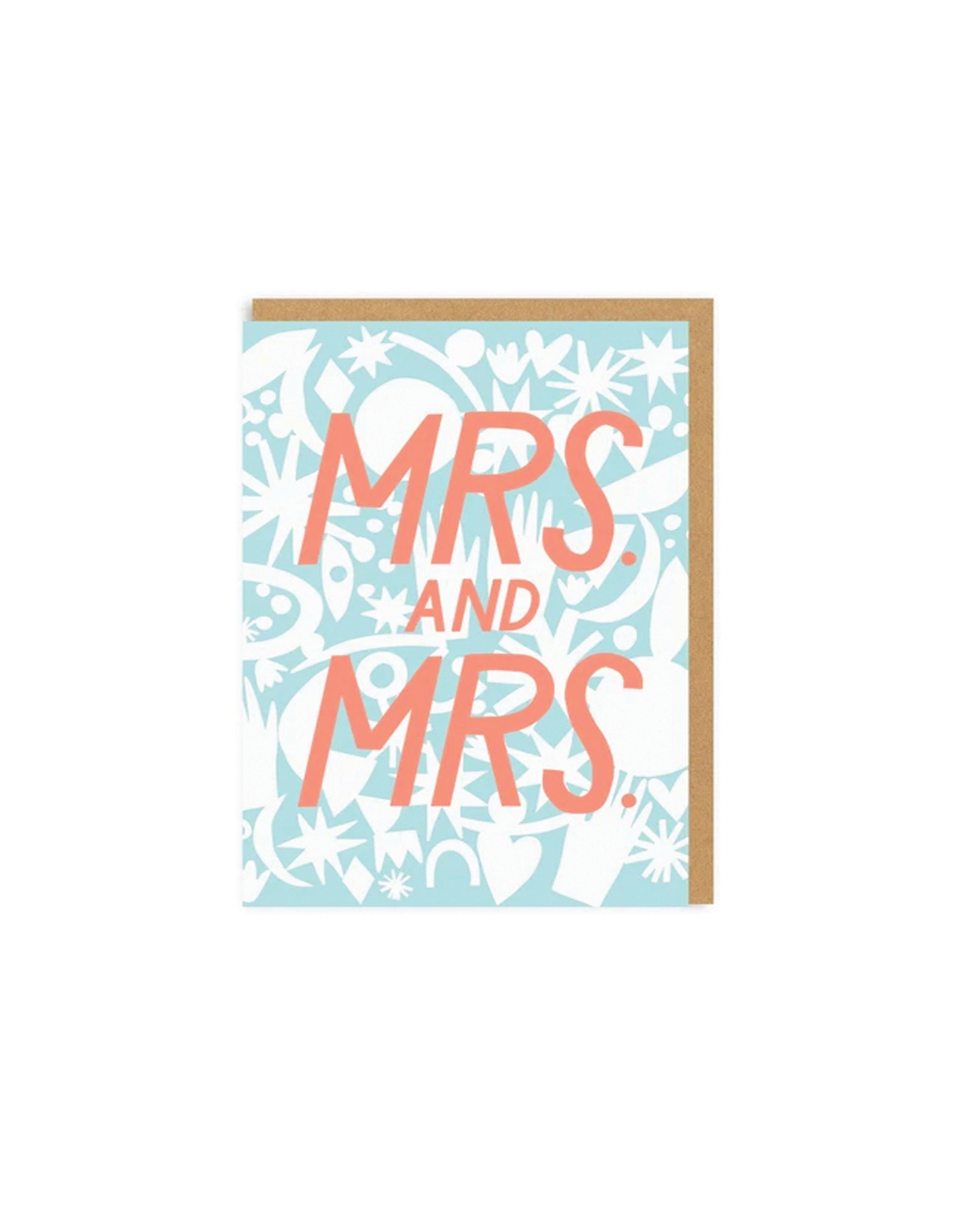 Hello Lucky Mrs and Mrs Card