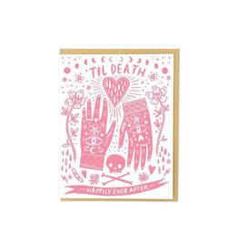 Hello Lucky Til Death Card