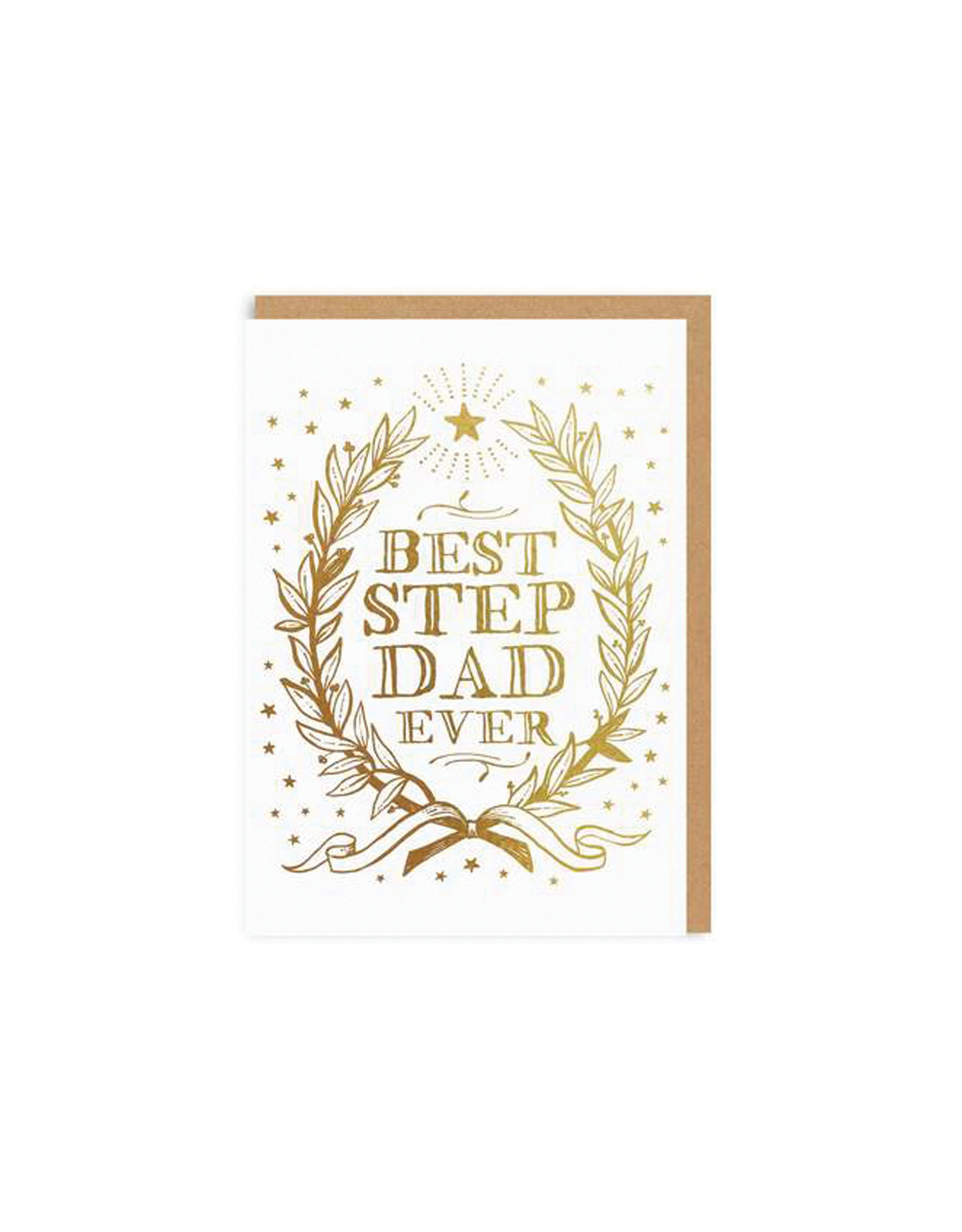 Hello Lucky Best Step Dad Card