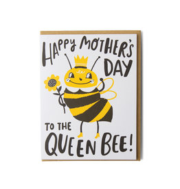 Hello Lucky Queen Bee Mother's Day Card