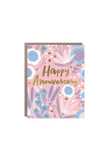 Hello Lucky Garden Anniversary Card