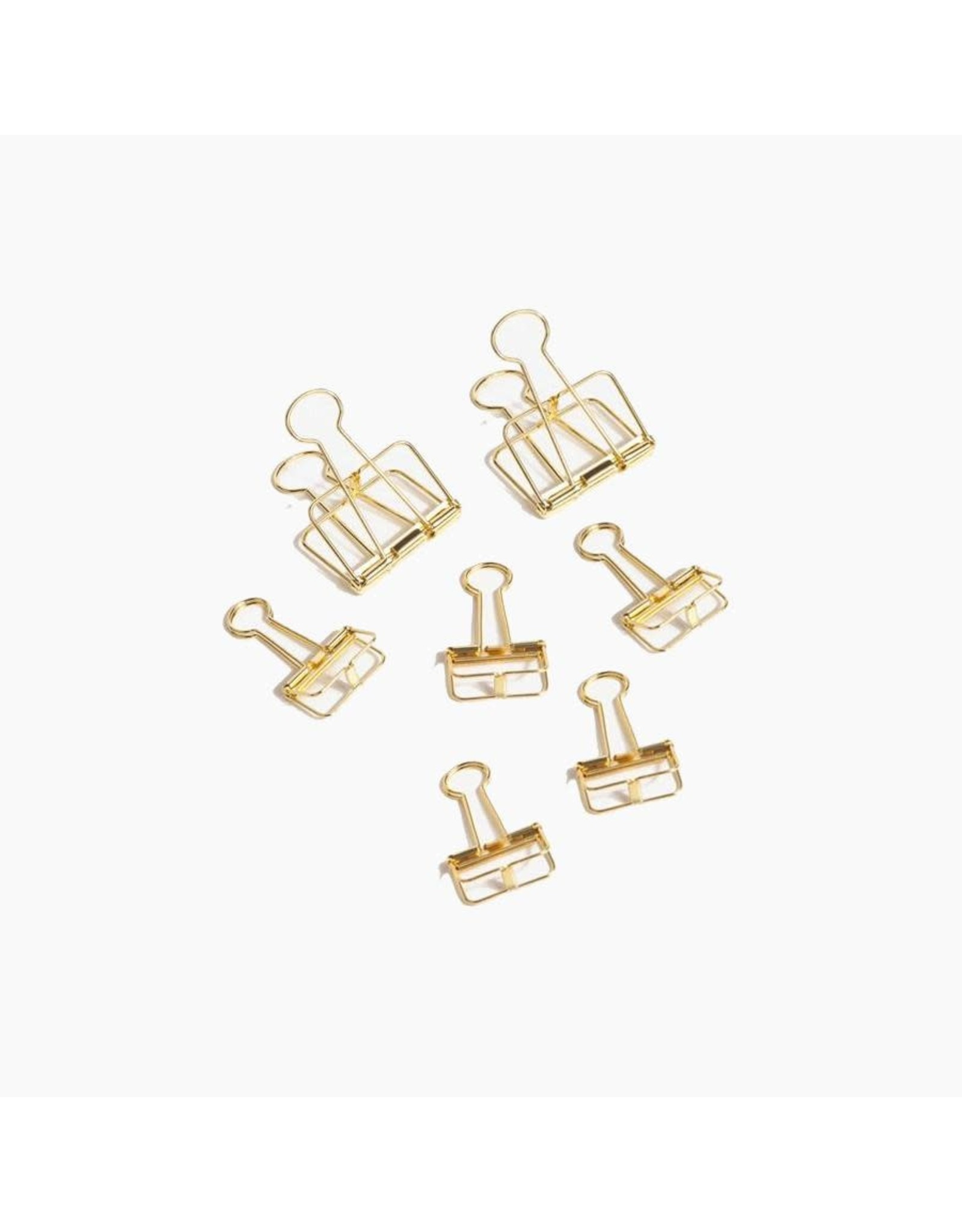 Poketo Gold Structure Clips