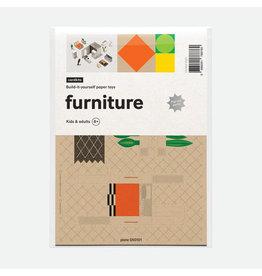 cardkit 0501: modern furniture & fish figure