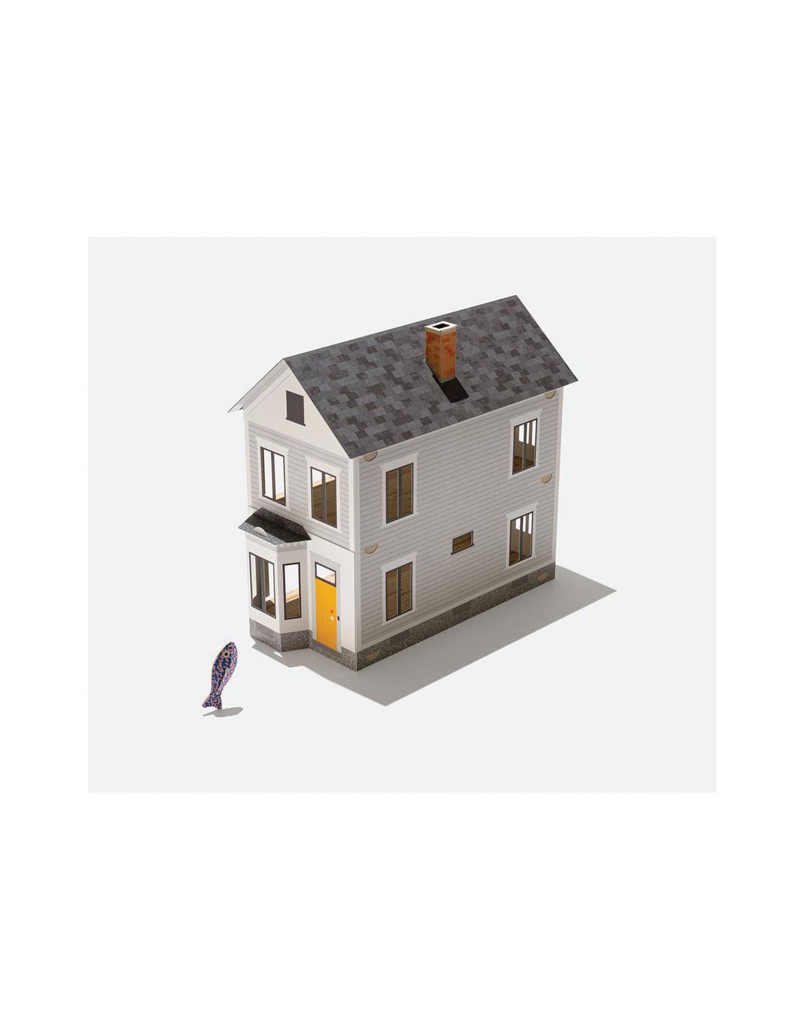 cardkit 0302: farm house & fish figure