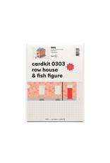 cardkit 0303: row house & fish figure