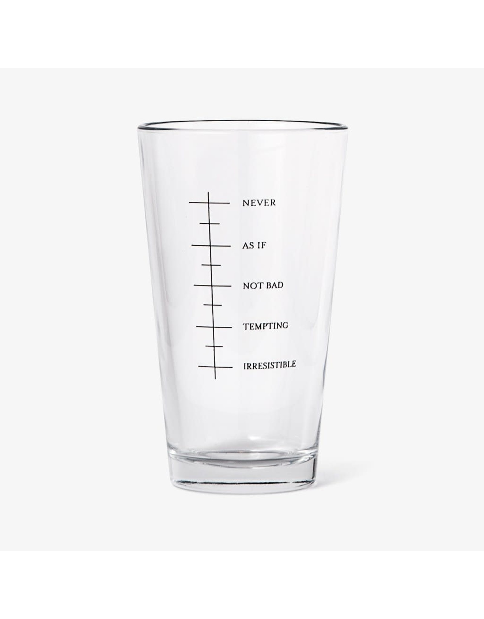 Set Editions Beer Goggles, 16oz Pint Glass