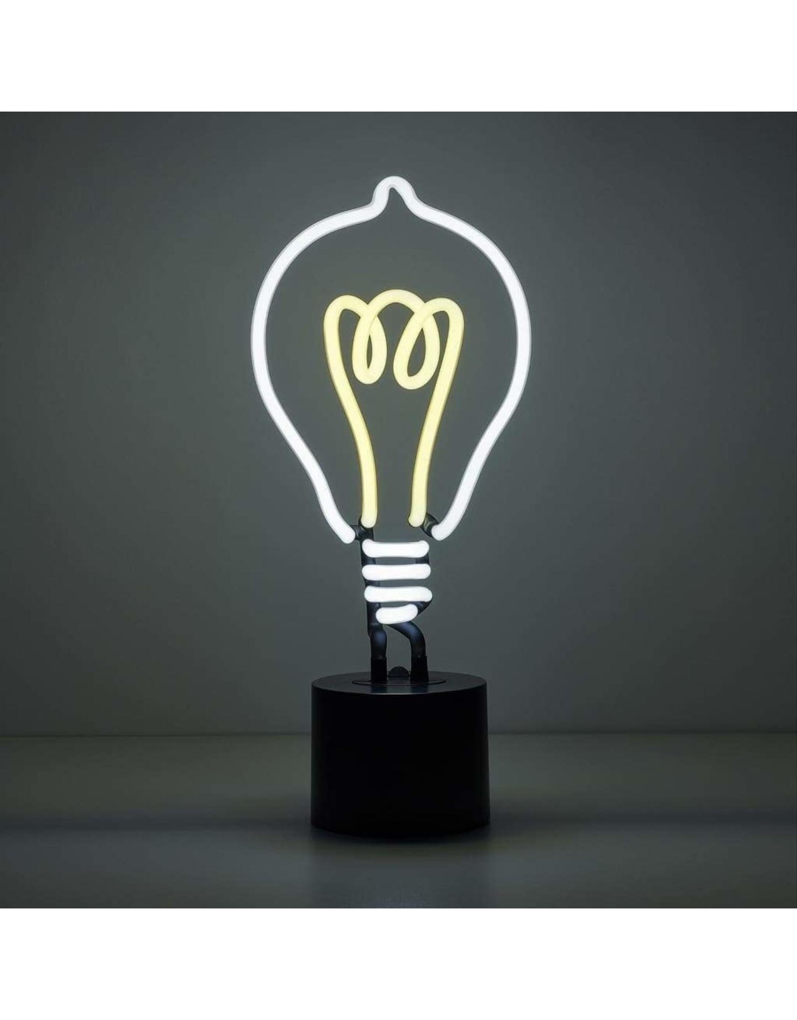 Amped & Co Light Bulb Neon Light