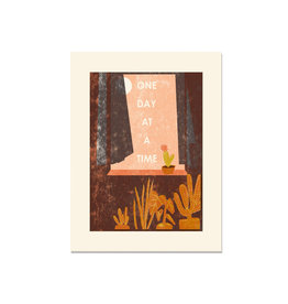 Heartell Press One Day at a Time Art Print