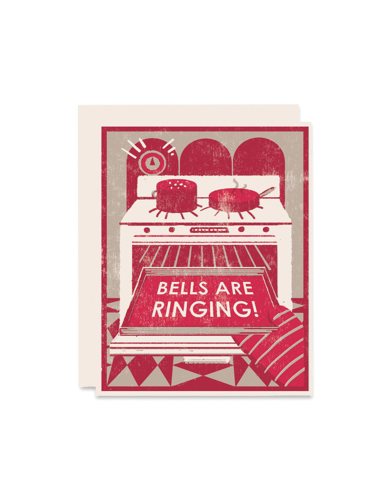 Heartell Press Bells Are Ringing Holiday Card