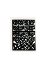 Heartell Press Snow is Snowing Holiday Card