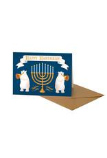 Clap Clap Card Hanukkah Bear