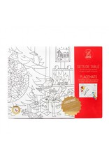 OMY Colouring Placemats - Christmas