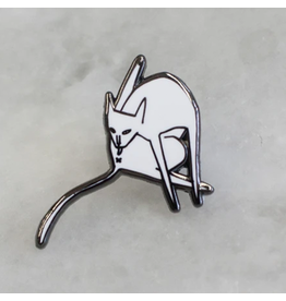 Stay Home Club Bathing Cat Pin